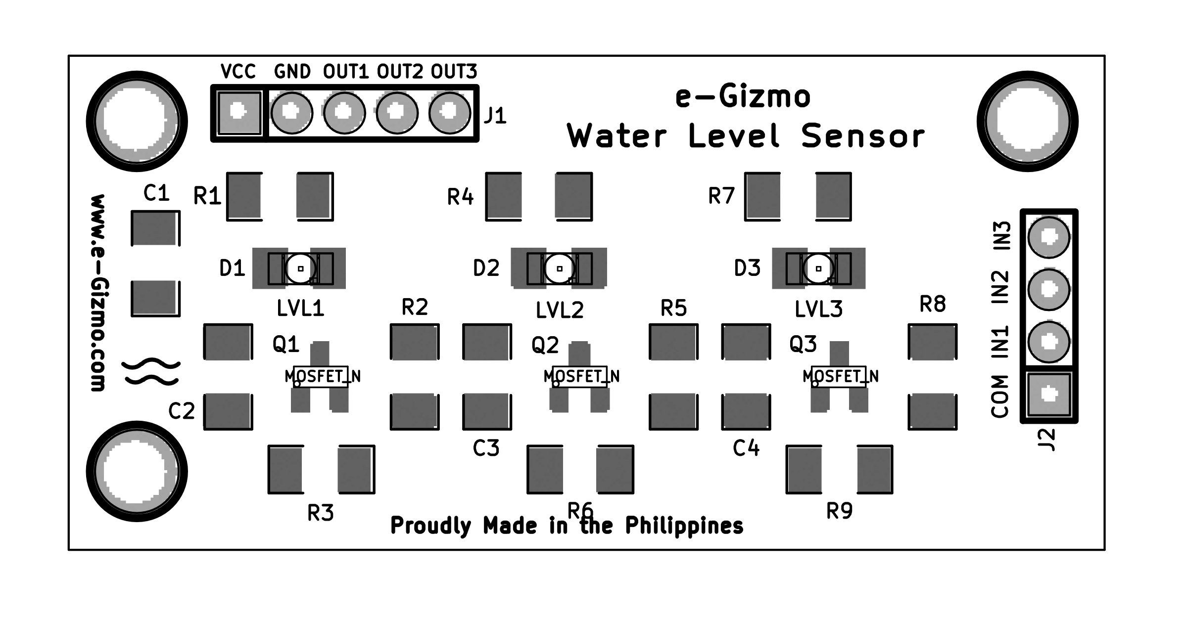 Liquid Sensing Water Level Sensor Circuit Diagram Indicator Download